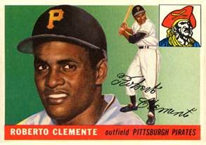 Description: Description: Image result for 1955 clemente baseball card
