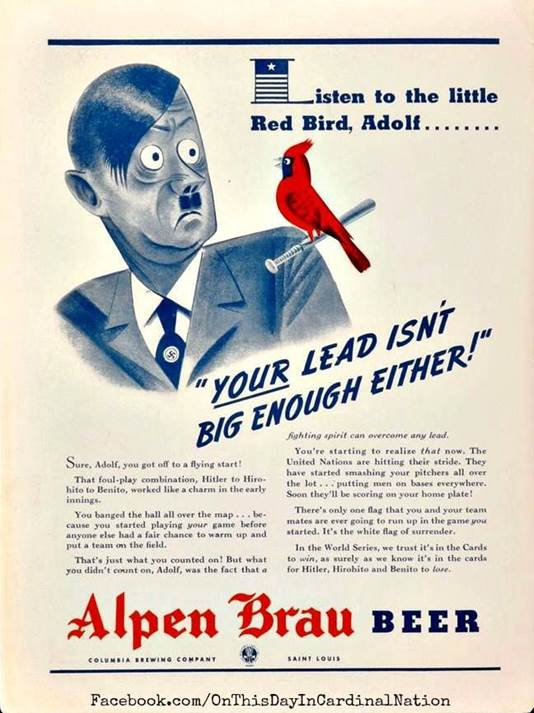 Image result for alpen brau beer cardinals