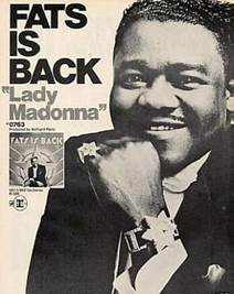 Image result for fats domino lady madonna