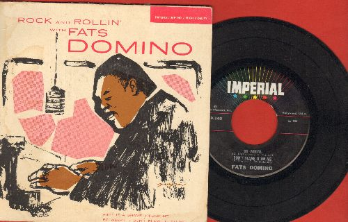 Image result for rock and rollin with fats domino album poor me