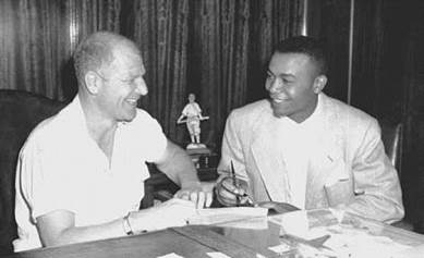 Image result for bill veeck larry doby