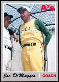 Image result for joe dimaggio oakland athletics coach