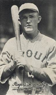 Image result for rogers hornsby baseball card 1925