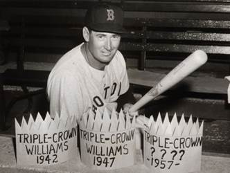 Image result for ted williams triple crown