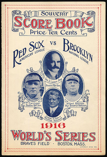 Image result for 1916 world series