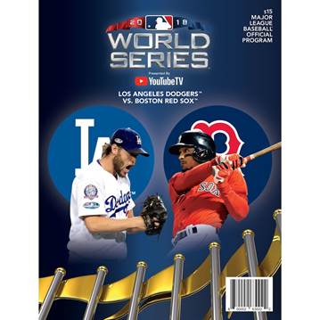 Boston Red Sox vs. Los Angeles Dodgers 2018 World Series Matchup Program