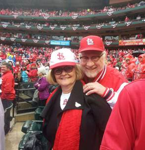 Image result for claire mccaskill st. louis cardinals
