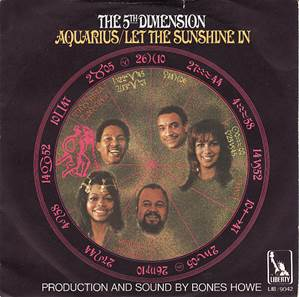 Image result for the 5th dimension aquarius/let the sunshine in