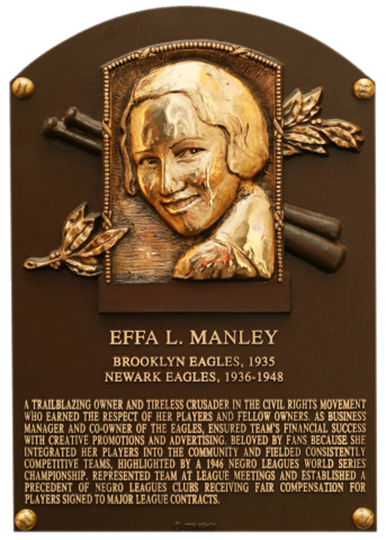 Image result for effa manley baseball hall of fame
