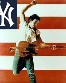 Image result for bruce springsteen yankees