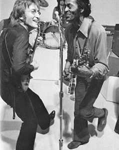 Image result for john lennon chuck berry