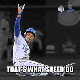 Image result for jarrod dyson that what speed do