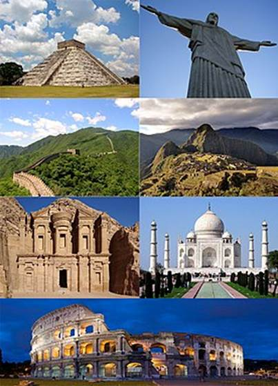 Image result for new seven wonders of the world