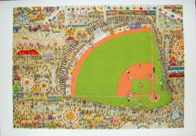 Image result for james rizzi take me out to the ballgame