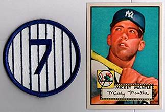 Image result for mickey mantle number 7