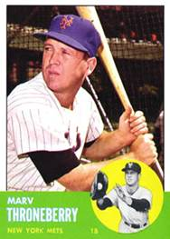Image result for marvelous marv throneberry baseball card 1962