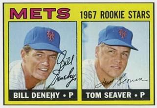 Image result for tom seaver 1967 topps rookie card