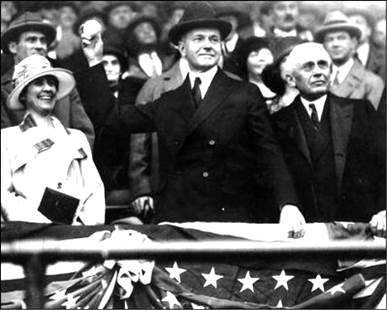 Image result for 1924 world series calvin coolidge