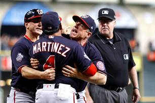 Image result for martinez thrown out