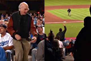 Image result for curb your enthusiasm dodger stadium episode