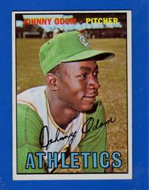 Image result for blue moon odom kansas city a's 1967