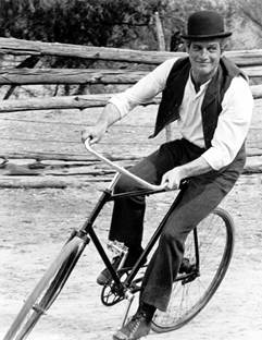 Image result for butch cassidy sundance kid bicycle scene