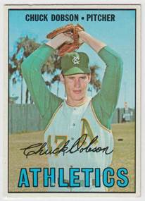 Image result for chuck dobson 1966 baseball card
