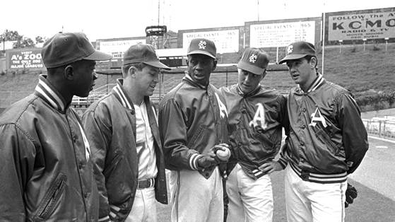 Image result for satchel paige 1965 catfish hunter