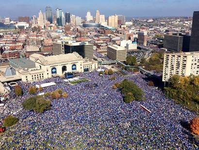 Image result for royals parade 2015""
