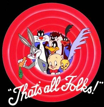 Image result for that's all folks bugs bunny