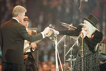 Image result for 1993 inauguration fleetwood mac