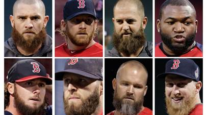 Band of bearded brothers leads Boston Red Sox to World Series ...