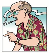 Uncle Duke, a Doonesbury comic strip character was based on Hunter ...