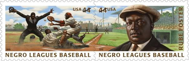 Hitting a Home Run on Stamps for Pioneering Baseball League