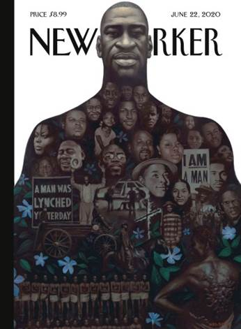 Kadir Nelson's New Yorker Cover is a Monument to George Floyd and ...