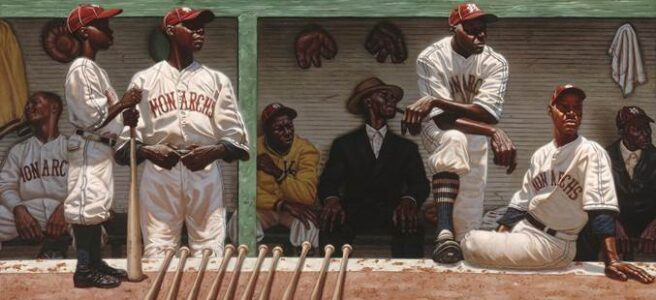 Kansas City Monarch Dugout by Kadir Nelson (Negro League Baseball ...