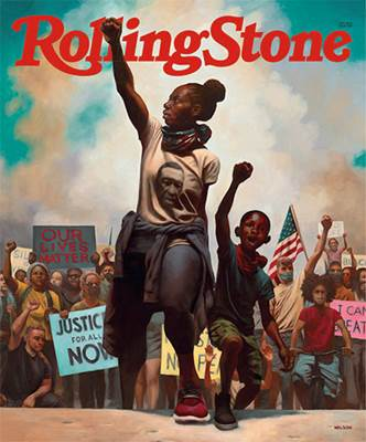 Latest issue of Rolling Stone Magazine