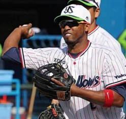 Alcides Escobar hit four hits and towed a hairline in Japan ...