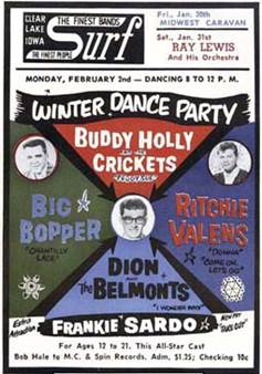 Winter Dance Party at Surf Ballroom–50 Years Ago | The Archive Attic