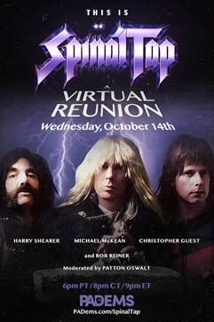 Cast of Rob Reiner's 1984 film, 'This is Spinal Tap,' staging virtual  reunion in fundraiser for Pennsylvania Democrats. - Pittsburgh Current