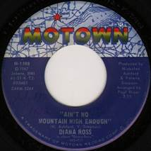Diana Ross - Ain't No Mountain High Enough / Can't It Wait Until Tomorrow  (1970, Vinyl) | Discogs