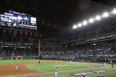 The Other Rookie Star of the World Series? Globe Life Field - The New York  Times