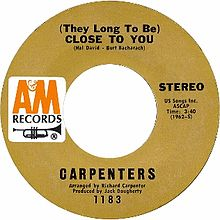 They Long to Be) Close to You - Wikipedia
