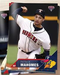 The Detroit Tigers drafted Patrick Mahomes in the 37th round of the 2014 MLB draft. Sunday, he'll play in his first Super Bowl for the Kansas City Chiefs.