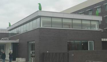 Penguins even on the roof - Picture of 21c Museum Hotel Bentonville -  Tripadvisor