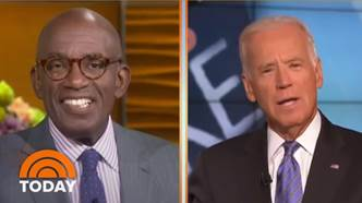 Al Roker Remembers Biden's Job Offer In Old Interview Footage   TODAY -  YouTube