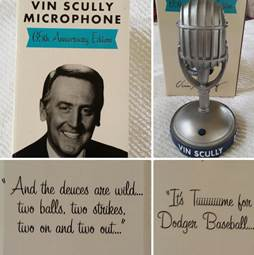 """Beto Durán on Twitter: """"Tomorrow. First 40,000 fans get a Vin Scully 65th  Anniversary Talking Microphone #Dodgers http://t.co/YWRKIu20SU"""""""
