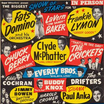 Buddy Holly, Chuck Berry, Eddie Cochran, Everly Bros. 1957 | LotID #12013 |  Heritage Auctions