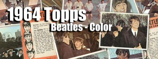 Buy 1964 Topps Beatles Color Cards, Sell 1964 Topps Beatles Color Cards:  Dean's Cards
