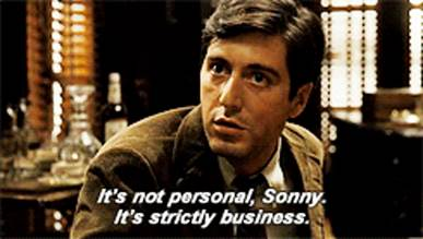The Godfather Its Not Personal GIF - TheGodfather ItsNotPersonal Sonny -  Discover & Share GIFs